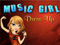 Music Girl Dress Up